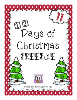 12 Days of Christmas Freebies...Day 11