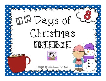 12 Days of Christmas Freebies......Day 8