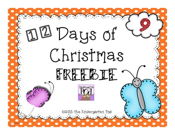 12 Days of Christmas Freebies....Day 9