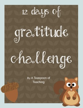 12 Days of Gratitude Challenge- Festive Friday