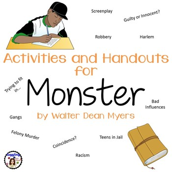 monster walter dean myers essay monster by walter dean myers literature essays and