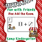 Apple Fun with Friends Dice Add the Room (Sums to 10)