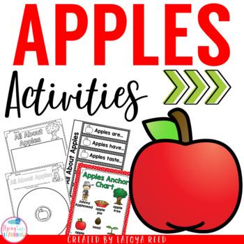 Apple Unit Activities for PreK K 1st