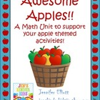 ~Awesome Apple Math Unit~