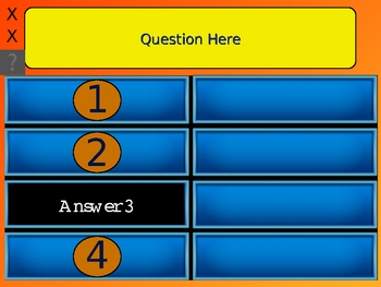 Family Feud Powerpoint Template With Sound Family Feud Customizable ...