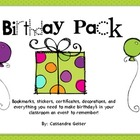 Birthday Pack Extravaganza (Everything You Need to Celebra