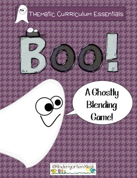 Boo! A Ghostly Blending Game