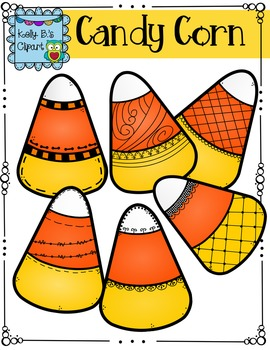 Candy Corn Clipart by Kelly B.