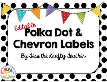 Chevron and Polkadot Headers