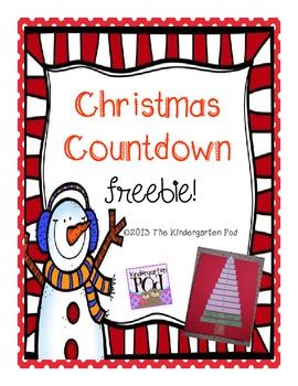 Christmas Countdown FREEBIE!