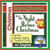 Christmas Homophones Handout - The Night Before Christmas