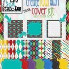 Create Your Own Digital Cover Kit (Digital frames, borders