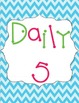 Daily 5 Cover Signs