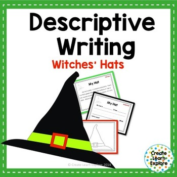 Descriptive Writing: Witch Hats