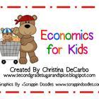 Economics Unit for Kids! Posters, Printables, Activities