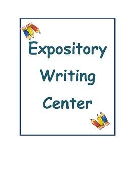 Expository Writing Center - Kristen Farnsworth - TeachersPayTeachers