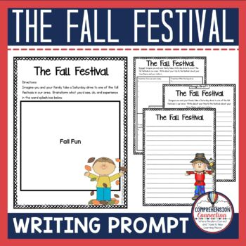 Fall Festival Writing Prompt Freebie