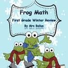 First Grade Math {Frog Math} A Winter Math Review