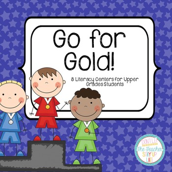 Gold Medal Olympics Literacy Centers - Comprehension and W