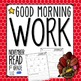 Good Morning Work - Reading - November