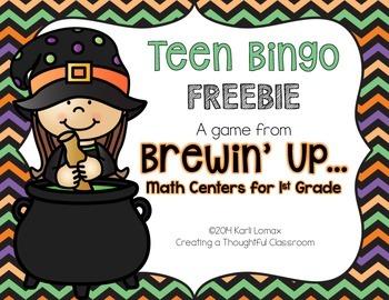 Halloween Teen Bingo, Creating a Thoughtful Classroom