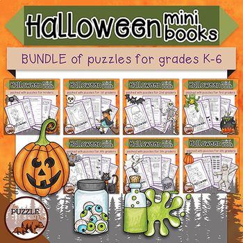 Halloween Super Bundle of Puzzles