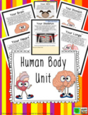 Human Body Unit: Foldables, Writing, Vocabulary, Scientist