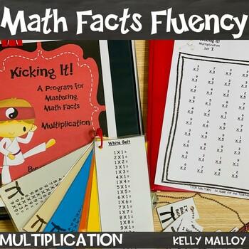 Kicking It Math Multiplication Fact Fluency Program