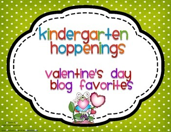 Kindergarten Hoppenings {Valentine's Day Blog Favorites