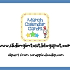 March Calendar Cards-DS