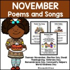 November Poems and Songs