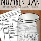 Number Jar 1-1,000