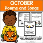 October Poems and Songs
