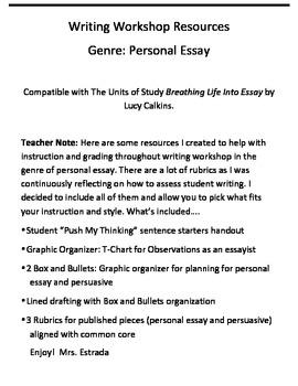 characteristics of personal essay