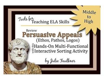 Ethos Pathos Logos Essay Example