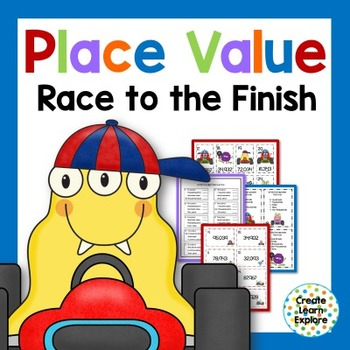 Place Value:Race to the Finish with 5-Digit Numbers
