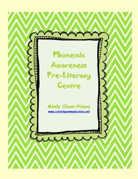 Pre-literacy Phonemic Awareness Package