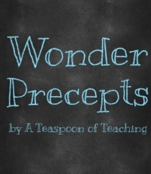 Precept Quotes from Wonder