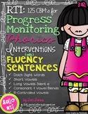 RTI: Fluency Sentences for Progress Monitoring Phonics Int