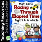 Elapsed Time Math Game (Racing Through Elapsed Time)