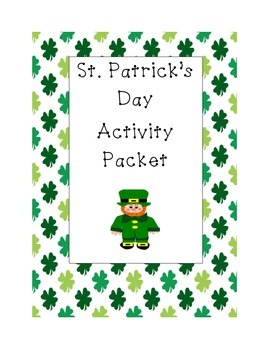 Saint Patrick's Day Activity Packet
