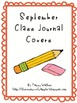 September Class Writing Journal Covers