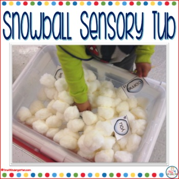 sensory table, sensory tub, kindergarten sensory,Winter literacy center