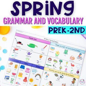 Springtime Grammar & Vocabulary Activities
