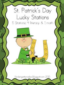 St. Patrick's Day Lucky Stations