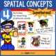 Superhero Spatial Strategies