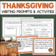 Thanksgiving Writing Pack - Persuasive Letter + Descriptiv