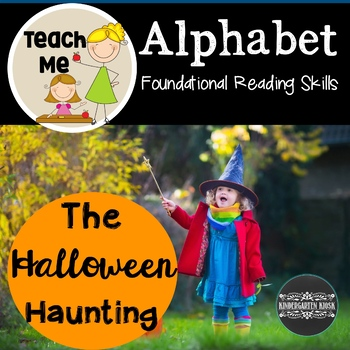 The Halloween Haunting: An Alphabet Letter Naming Fluency Game