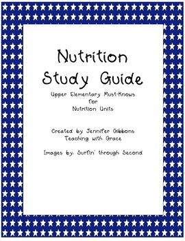 nutrition 100 study guide 11/28/07 nutrition study guide (sections 1-6) things you should know for test section 1 and 3: nutrition facts of food and food.