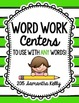 Word Work Choice - To Use with ANY Words!